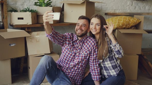 Young people renting