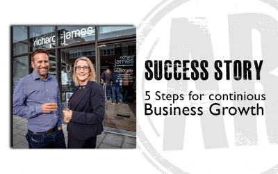 Five Steps for Continuous Business Growth in the Lettings Industry:Richard James Estate Agency Success Story